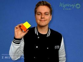 Profesjonalna lekcja układania Kostki Rubika