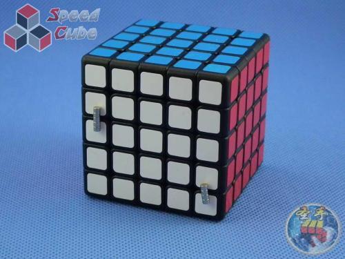 ShengShou 5x5x5 Mr. M Magnetic Czarna