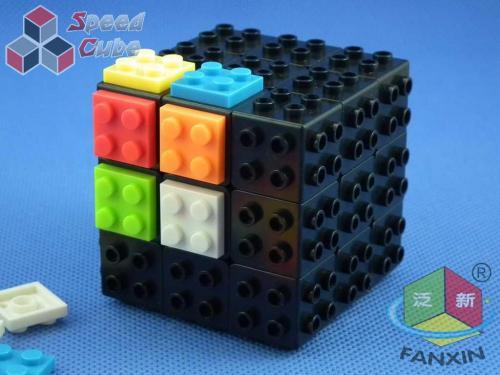 FanXin 3x3x3 Kostka - DIY klocki Czarna Baza