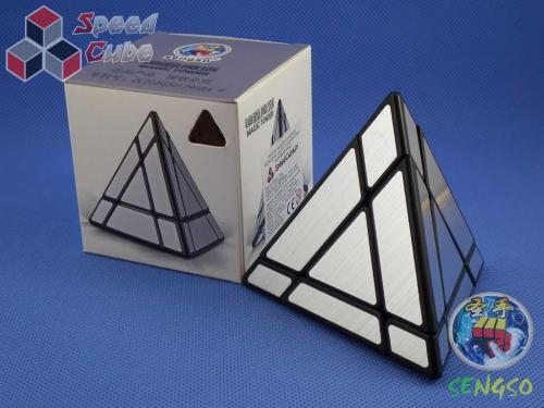 SengSo Mirror Pyraminx Silver