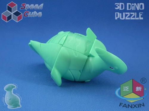 FanXin Dino 3D Cube Parasaurulophus