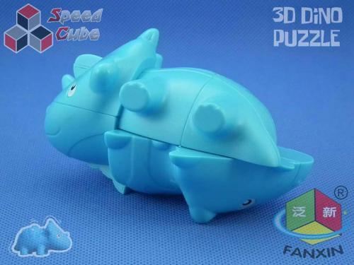 FanXin Dino 3D Cube Styracosaurus