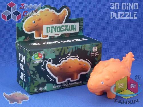 FanXin Dino 3D Cube Ankylosaurus