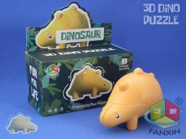FanXin Dino 3D Cube Stegosaurus