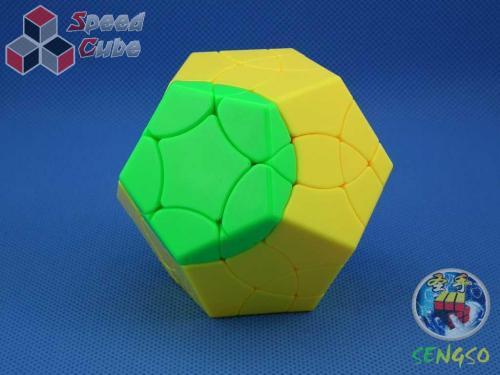 ShengShou Phoenix Megaminx Kolorowa Yellow