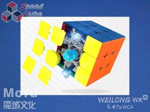 MoYu WeiLong WR M 2021 3x3x3 Stickerless