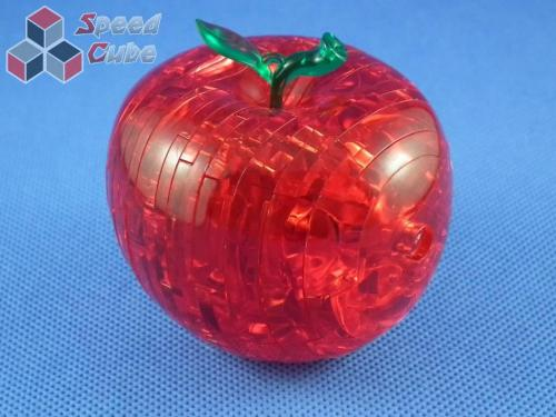 YJ Apple Crystal Puzzle 3D Red