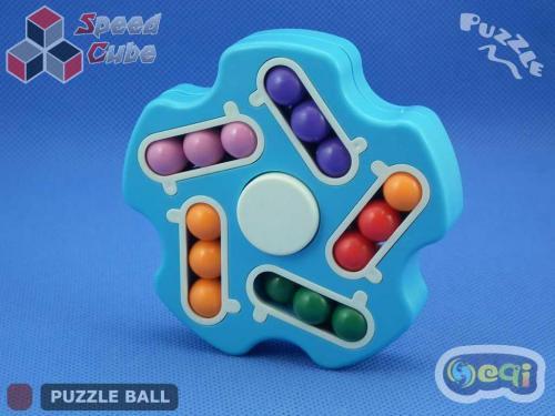Magic Spinner Cube Bean Double Blue