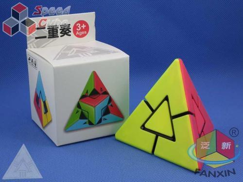 FanXin Dual Pyraminx Stickerless