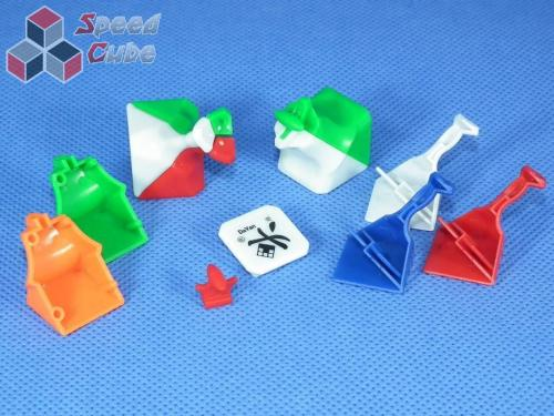 DaYan V ZhanChi 3x3x3 57 mm Kolorowa