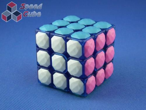 MoYu YJ Carat Diamond Transp. Blue