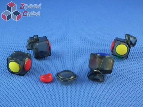 MoYu YJ LingGan 3x3x3 Transp. Black