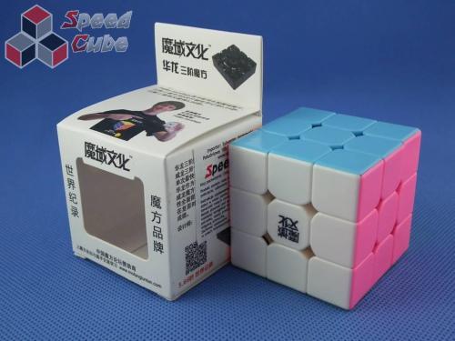 MoYu HuaLong 3x3x3 Kolorowa PiNK
