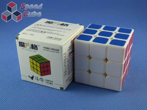 QiYi Mo Fang Ge Bull Fight 3x3x3 Biała