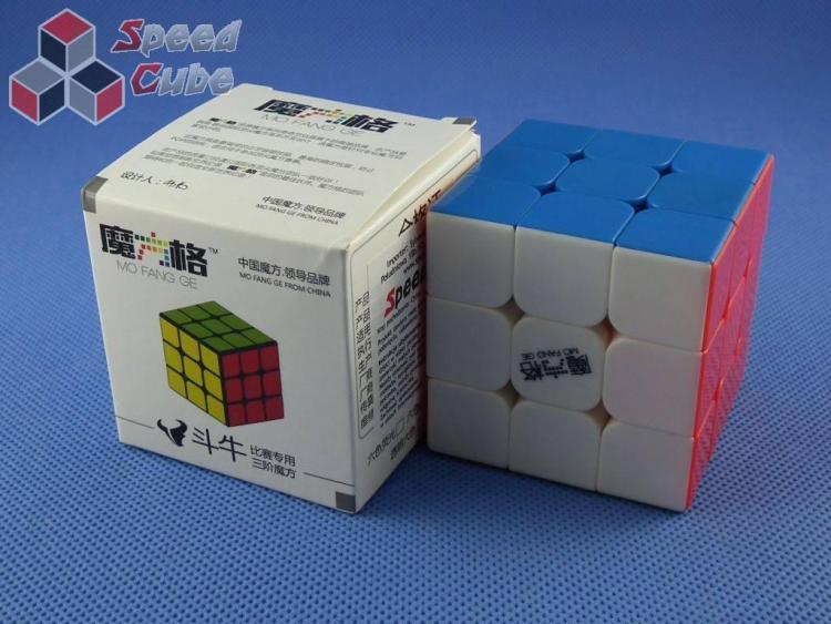QiYi Mo Fang Ge Bull Fight 3x3x3 Kolorowa