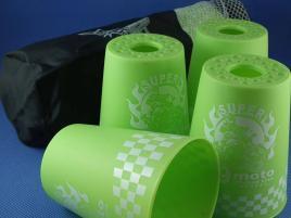 Kubki YongJun Stacking Cups Graffiti Zielone