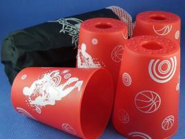 Kubki YongJun Stacking Cups Czerwone