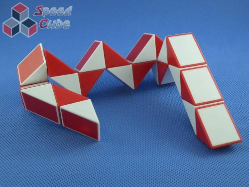 ShengShou Snake Twist Red & White