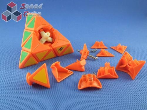 DaYan Pyraminx Pomarańczowa