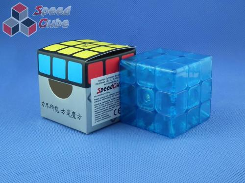 FangShi GungYing 3x3x3 Niebieska Transp.