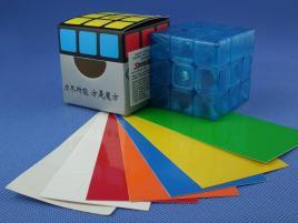 FangShi GuangYing 3x3x3 Niebieska Transp.