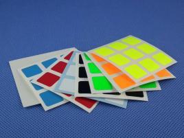 Naklejki 3x3x3 Halczuk Stickers Fluo 57