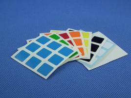 Naklejki 3x3x3 Halczuk Stickers Half Bright 57