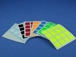 Naklejki 4x4x4 Halczuk Stickers Fluo