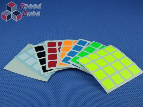 Naklejki Halczuk Stickers ShengShou Fluo 4x4x4