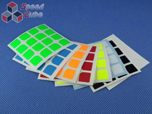 Naklejki Halczuk Stickers ShengShou Florian Fluo 4x4x4