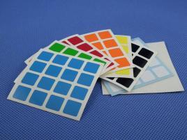 Naklejki 4x4x4 Halczuk Stickers ShengShou Half Bright