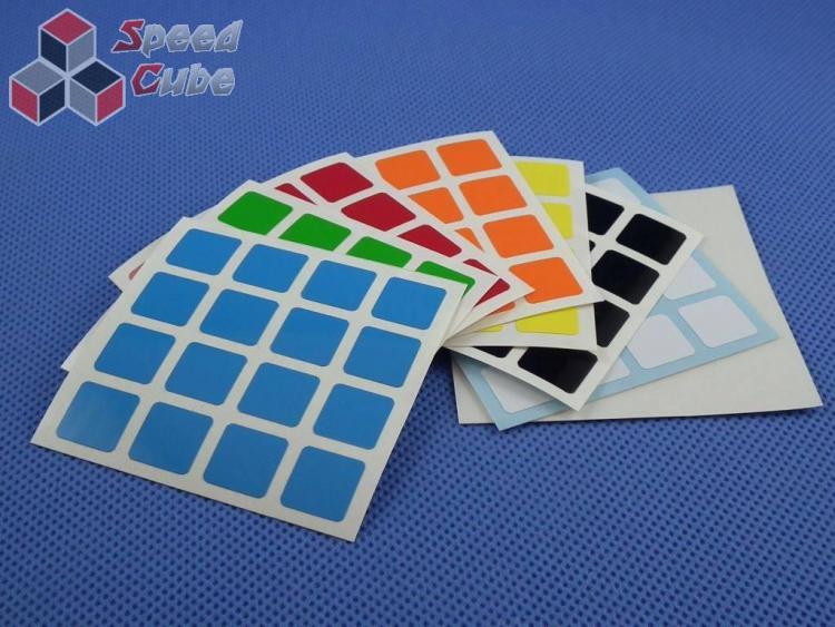 Naklejki Halczuk Stickers ShengShou Half Bright 4x4x4