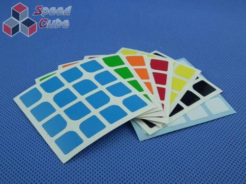 Naklejki Halczuk Stickers ShengShou Florian Half Bright 4x4x4