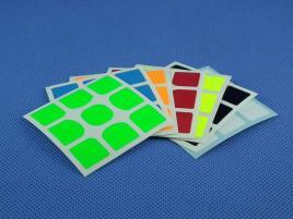 Naklejki 3x3x3 Halczuk Stickers Gans 356 Fluo