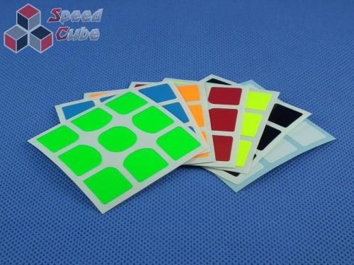 Naklejki Halczuk Stickers Gans 356 Fluo 3x3x3