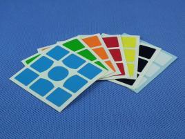 Naklejki 3x3x3 Halczuk Stickers Gans 357 Half Bright