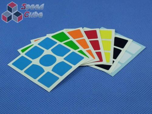 Naklejki Halczuk Stickers Gans 357 Half Bright 3x3x3