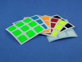 Naklejki 3x3x3 Halczuk Stickers AoLong Mini Fluo