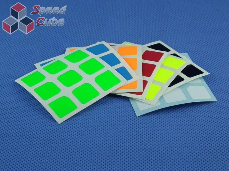 Naklejki Halczuk Stickers AoLong Mini Fluo 3x3x3