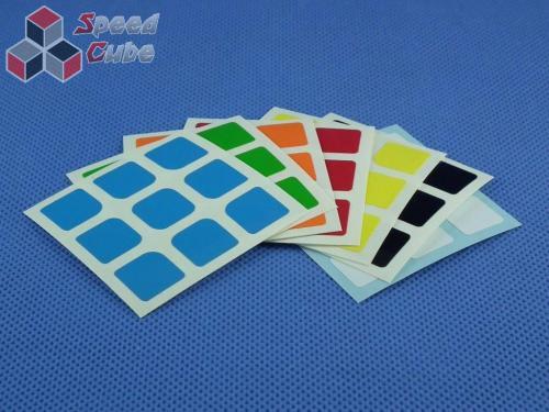Naklejki Halczuk Stickers AoLong Mini Half Bright 3x3x3
