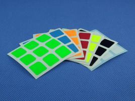 Naklejki 3x3x3 Halczuk Stickers Florian Fluo 57