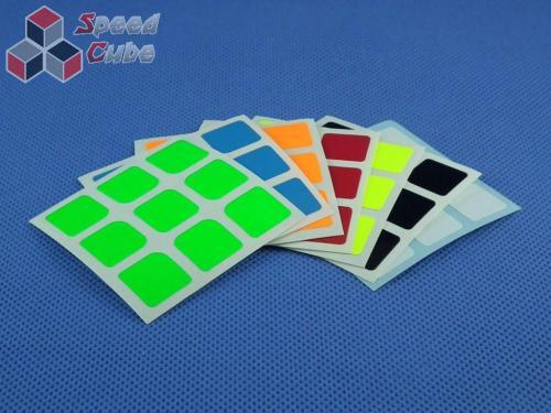Naklejki Halczuk Stickers Florian Fluo 3x3x3 57