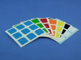 Naklejki 3x3x3 Halczuk Stickers Florian Half Bright 57