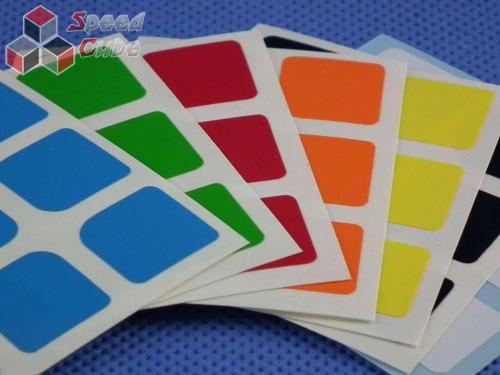 Naklejki Halczuk Stickers Florian Half Bright 3x3x3 57