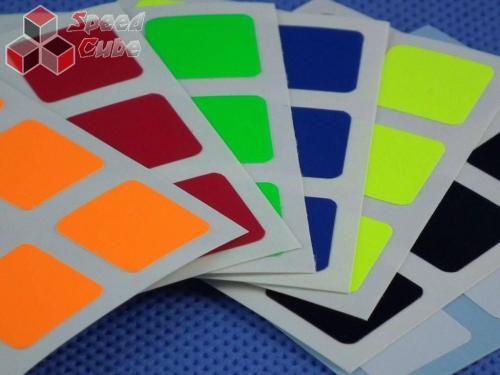 Naklejki Halczuk Stickers Fluo Dark Blue 3x3x3 57
