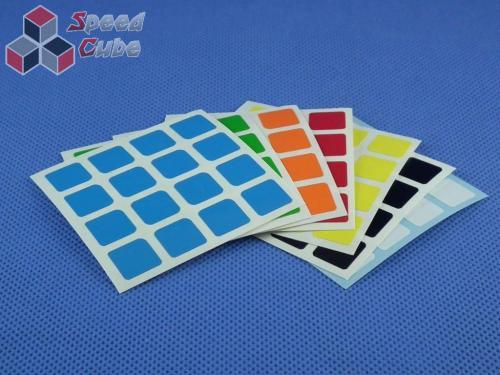Naklejki Halczuk Stickers MoYu Half Bright 4x4x4