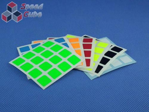 Naklejki Halczuk Stickers MoYu Fluo 4x4x4