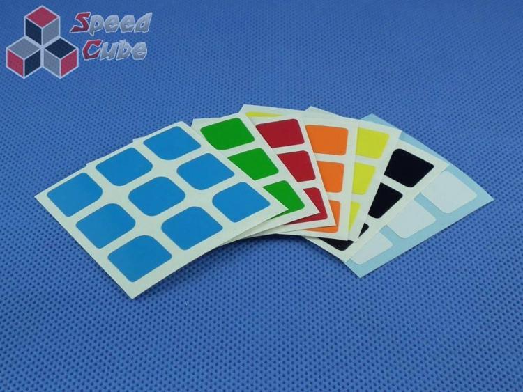 Naklejki Halczuk Stickers AoLong Half Bright 3x3x3