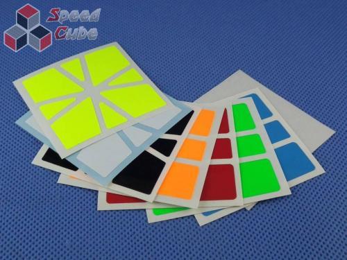 Naklejki Halczuk Stickers Square-1 SQ-1 Fluo