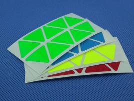 Naklejki Pyraminx Halczuk Stickers Fluo